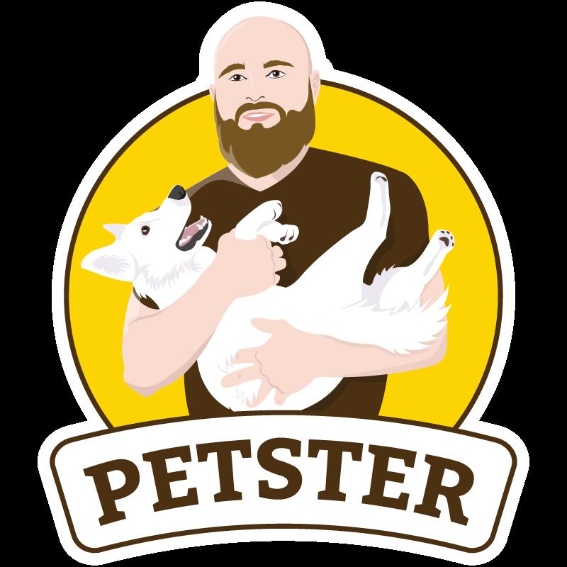 Логотип зоомагазину Petster в Тернополі